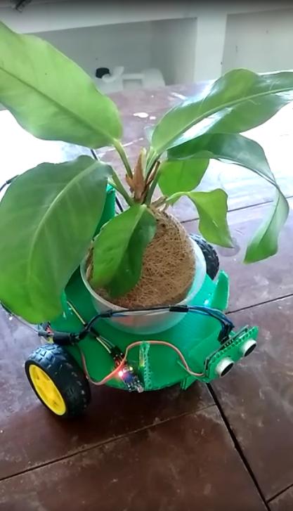 SMK PP Binaan Kementan Kenalkan Smartpot Kokedama MIMOS
