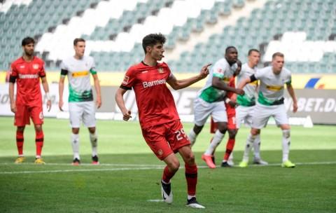 Sepasang Gol Havertz Bantu Leverkusen Tundukkan Gladbach