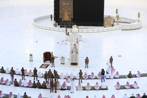 Suasana Salat Id di Masjidil Haram