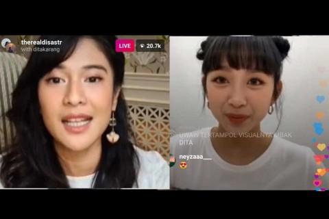 Awal Perkenalan Dian Sastro dengan Dita Karang, Personel Grup K-Pop Secret Number