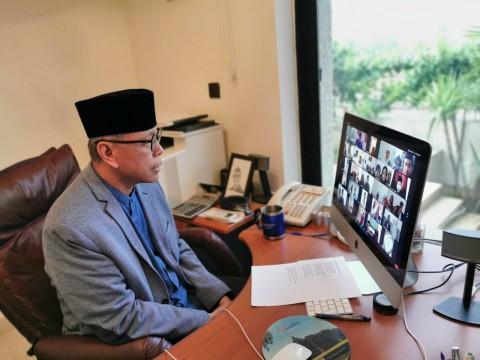 Lebaran Online WNI di Negeri Para Nabi