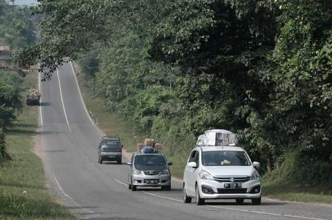 2.717 Kendaraan Pemudik Diputar Balik Saat Lebaran