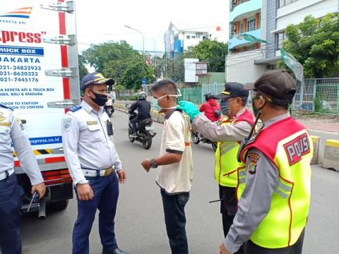 275 Pelanggar PSBB di Jakarta Dapat Teguran saat Lebaran