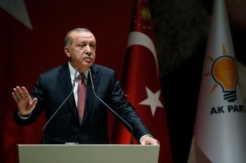 Erdogan Bertekad Lindungi Palestina dari Pencaplokan Israel