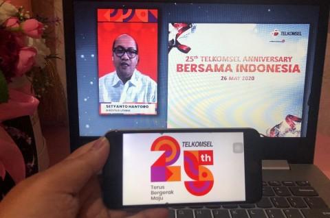 Telkomsel Rayakan Ulang Tahun ke-25