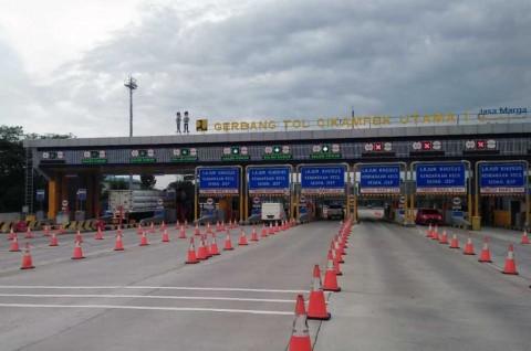 H2 Lebaran, 55 Ribu Kendaraan Masuk Jakarta