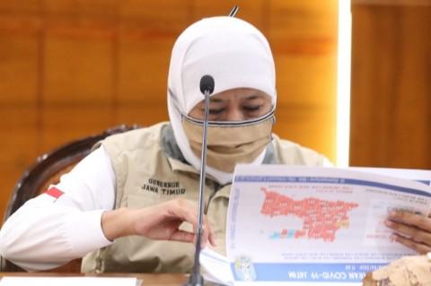 Khofifah Larang Perantau Asal Jatim Kembali ke Jakarta
