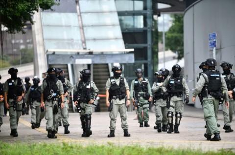 Polisi Hong Kong Bersiap Hadapi Pedemo RUU Lagu Nasional