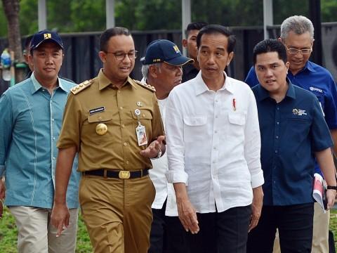 Jokowi Minta Arus Balik ke Jabodetabek Dikendalikan