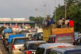 Kendaraan Keluar Jabodetabek Turun 81% pada Lebaran Pertama