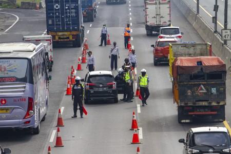 87.636 Kendaraan Ditindak Selama Operasi Ketupat 2020