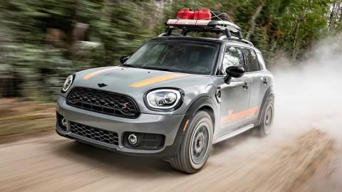 Menerapkan Konsep Dakar Rally di MINI Countryman
