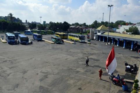 H+4 Lebaran, Terminal Rajabasa Lampung Sepi Penumpang