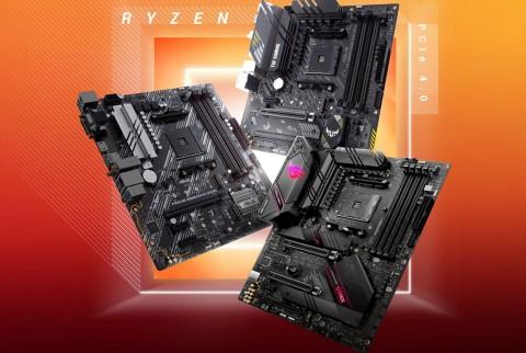 Asus Umumkan Jajaran Motherboard Chipset AMD B550