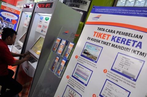 Era Baru, Tiket Kereta Hanya Bisa Dibeli <i>Online</i>