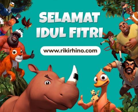 Film Riki Rhino Rilis Situs Interaktif untuk Keluarga