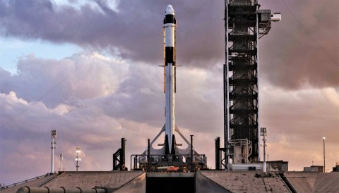Cara Menonton Peluncuran Roket SpaceX dan Nasa ke ISS Malam Ini
