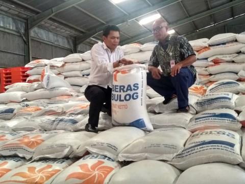 Masih Ada 7.000 ton Beras Bulog di Sulteng