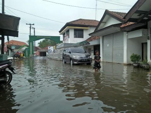 350 KK di Sidoarjo Terdampak Banjir