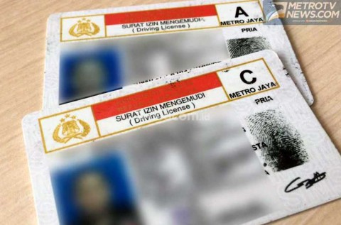 Jenis SIM yang Berlaku di Indonesia
