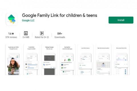 Anak-Anak Kompak Beri Bintang Satu ke Aplikasi Google Family Link