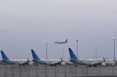 Pendapatan Tergerus, 70% Pesawat Garuda Indonesia Dikandangkan