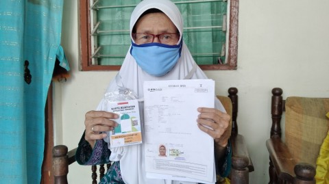 13 Tahun Menabung, Niat Sri Pergi Haji Tertunda
