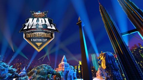 Mobile Legends: Bang Bang Gelar Turnamen Profesional League Invitational 4 Negara