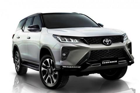 Intip Penampakan Toyota Fortuner Facelift