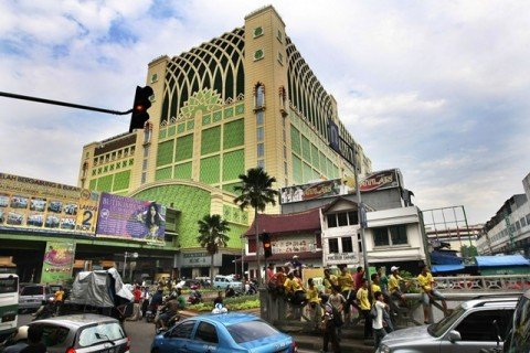 Pasar Nonpangan DKI Sulit Disiplin Saat Masa Transisi