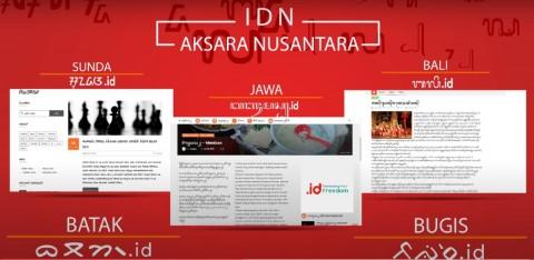 Setelah Aksara Jawa, PANDI Bersiap Daftarkan Aksara Lainnya ke ICANN