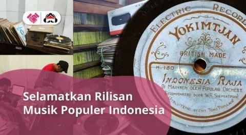 Arsip Musik Lawas Irama Nusantara Terancam Tutup karena Covid-19