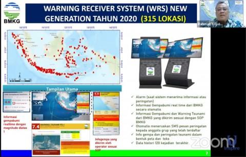Alat Pendeteksi Gempa dan Tsunami Dipasang di 315 Lokasi Rawan