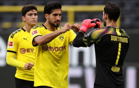 Tekuk Hertha Berlin, Dortmund Jaga Peluang Raih Gelar Juara
