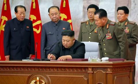 Muncul di Pertemuan Politbiro, Kim Jong-un Utamakan Kemandirian Ekonomi