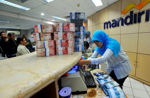 Laba Bank Mandiri Tumbuh 9,44% di Kuartal I-2020