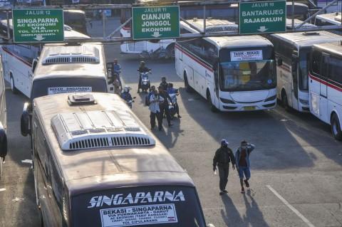 Bus AKAP Kembali Beroperasi di 7 Terminal Jabodetabek