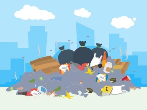 Timbunan Sampah di Indonesia Mencapai 67,8 Ton