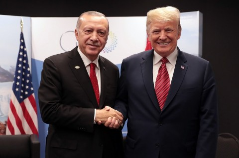 Erdogan Klaim Capai Kesepakatan dengan Trump soal Libya