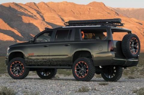Chevrolet Suburban Kbusus Berburu dan Memancing