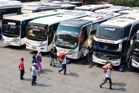 Aturan Baru, Bus Boleh Bawa Penumpang 70%