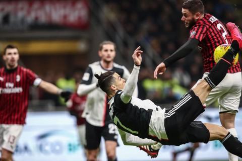 5 Pertandingan Seru AC Milan vs Juventus di Coppa Italia