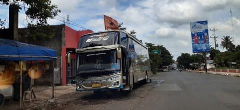 Bus AKAP di Jepara Baru Beroperasi 10 Persen