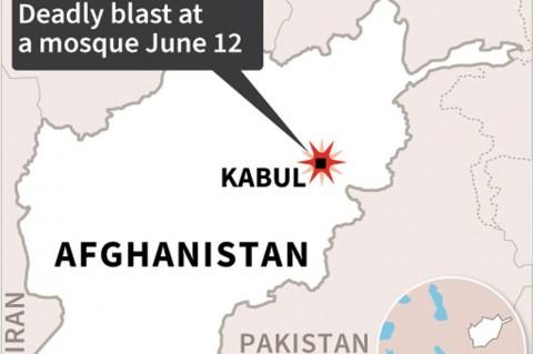 Bom Saat Salat Jumat di Kabul Tewaskan 4 Orang