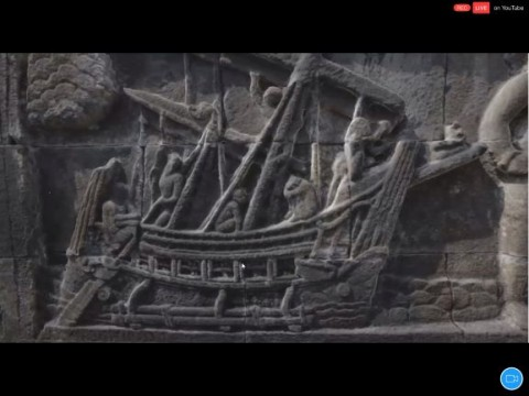 Tur Relief Kapal di Borobudur, untuk Berdagang Hingga Penggambar Takdir