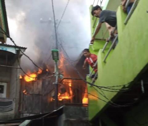 Empat Rumah Terbakar di Bendungan Hilir