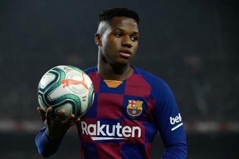 Diincar Manchester United, Barcelona Pagari Ansu Fati