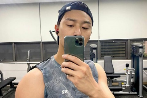Demi Film Terbaru, Park Seo Joon Rajin Nge-Gym