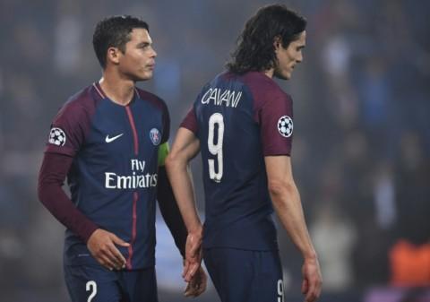 PSG Konfirmasi Kepergian Thiago Silva dan Edinson Cavani