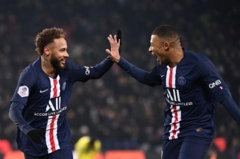 PSG Segera Perpanjang Kontrak Neymar dan Mbappe
